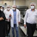 بازدید ریاست سازمان صنعت، معدن و تجارت رباط کریم از کارخانه نان سحر